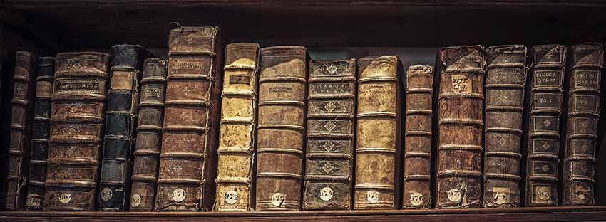 El olor a libro viejo